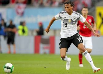 Sané left out of Germany's World Cup squad