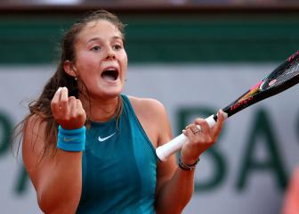 Kasatkina into uncharted territory with Wozniacki win