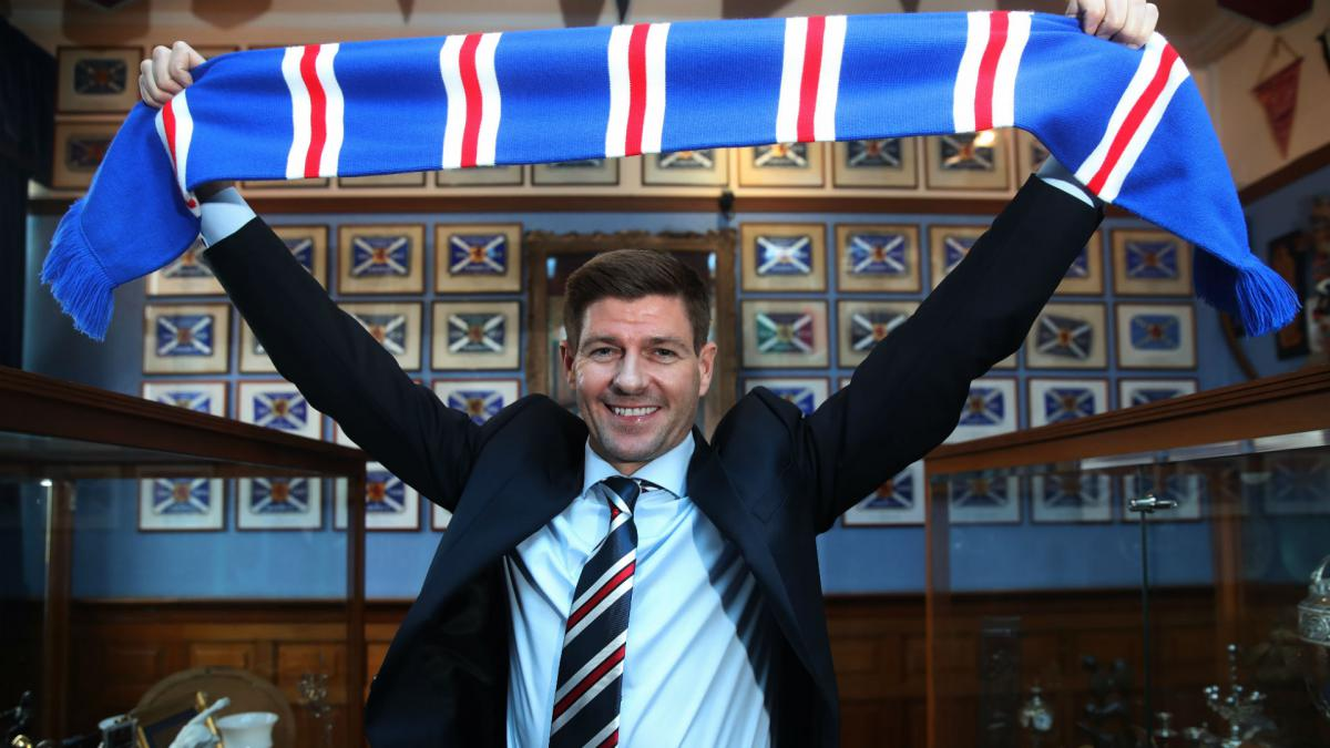 Gerrard should be player-manager at Rangers - Goram
