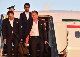 Iran first team to arrive in Russia for World Cup