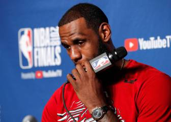 LeBron James: Whoever wins NBA championship won't want White House invite