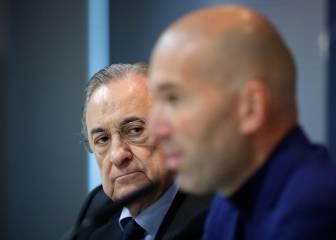 Zidane quits Real Madrid after row with Pérez over transfers - report