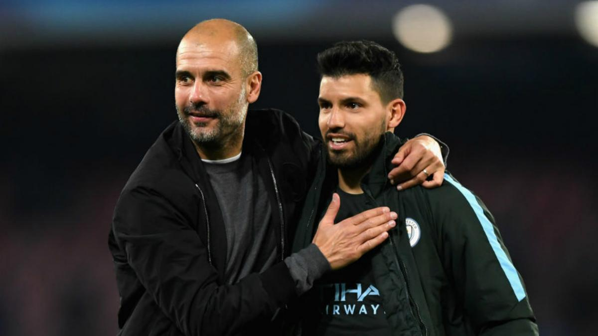 Aguero reveals Guardiola relationship is 'really good' as he plans to stay at City