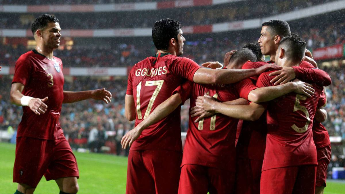 b5e07eb039f Portugal 3-0 Algeria  World Cup 2018 warm-up result