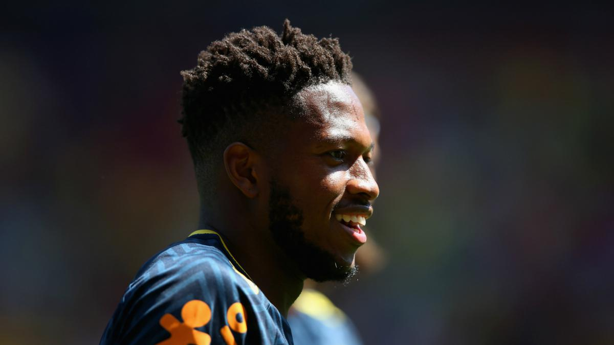 Brazil's Fred suffers ankle injury