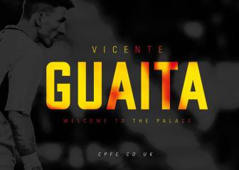 Crystal Palace sign goalkeeper Vicente Guaita