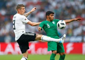 Germany toil to see off Saudi Arabia