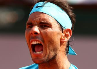 Majestic Nadal crushes Del Potro to reach 11th final in Paris