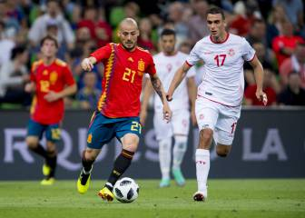 Spain-Tunisia in pictures