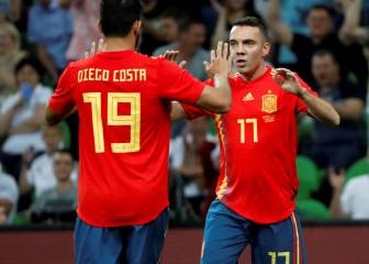 Aspas to the rescue as Spain toil against Tunisia