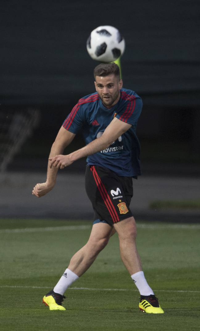 Real Madrid's Nacho likely to fill in for injured teammate Carvajal.