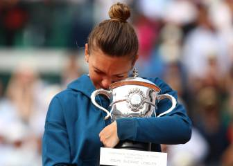 Halep outguns Stephens to claim French Open title