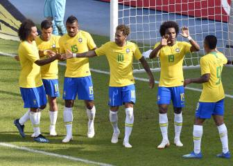 Samba Show rolls into Vienna, as Brazil see off Austria comfortably