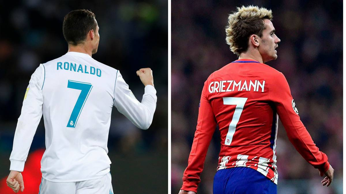 Ronaldo will stay with Madrid and Griezmann at Atleti affirms LaLiga president