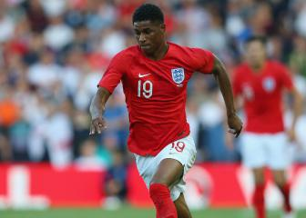 Rashford nursing ill-timed knock, Southgate confirms