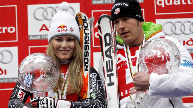 Lindsey Vonn led the tributes to the 19-month-old daughter of former United States Olympic skier Bode Miller.