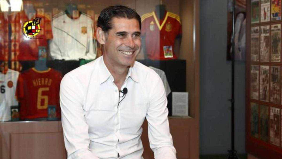 Fernando Hierro takes over as Spain coach