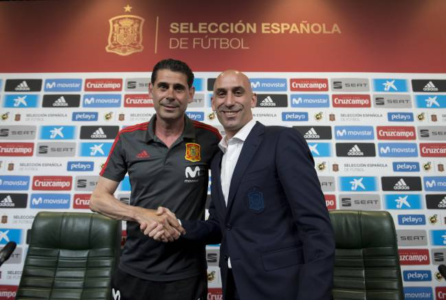 Fernando Hierro will take over as Spain coach at 2018 World Cup Russia.