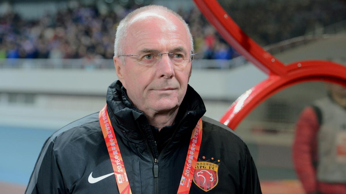 Eriksson predicts China will become 'super power' in world football