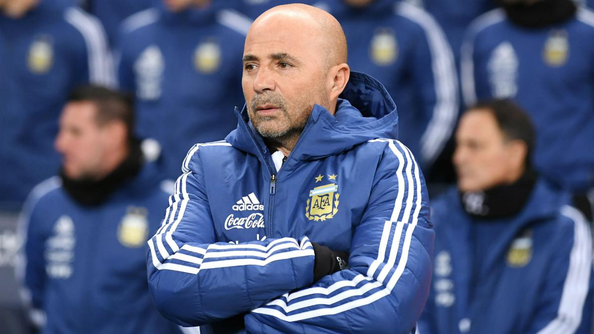 Sampaoli denies underestimating Iceland after naming XI