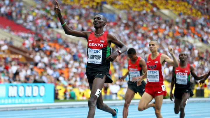 Asbel Kiprop gives up fight against doping charges