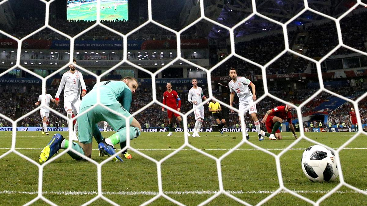 De Gea relaxed after Ronaldo blunder