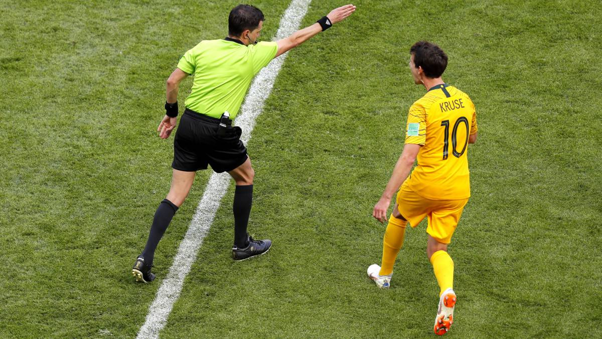 VAR used to award penalty at World Cup finals for first time