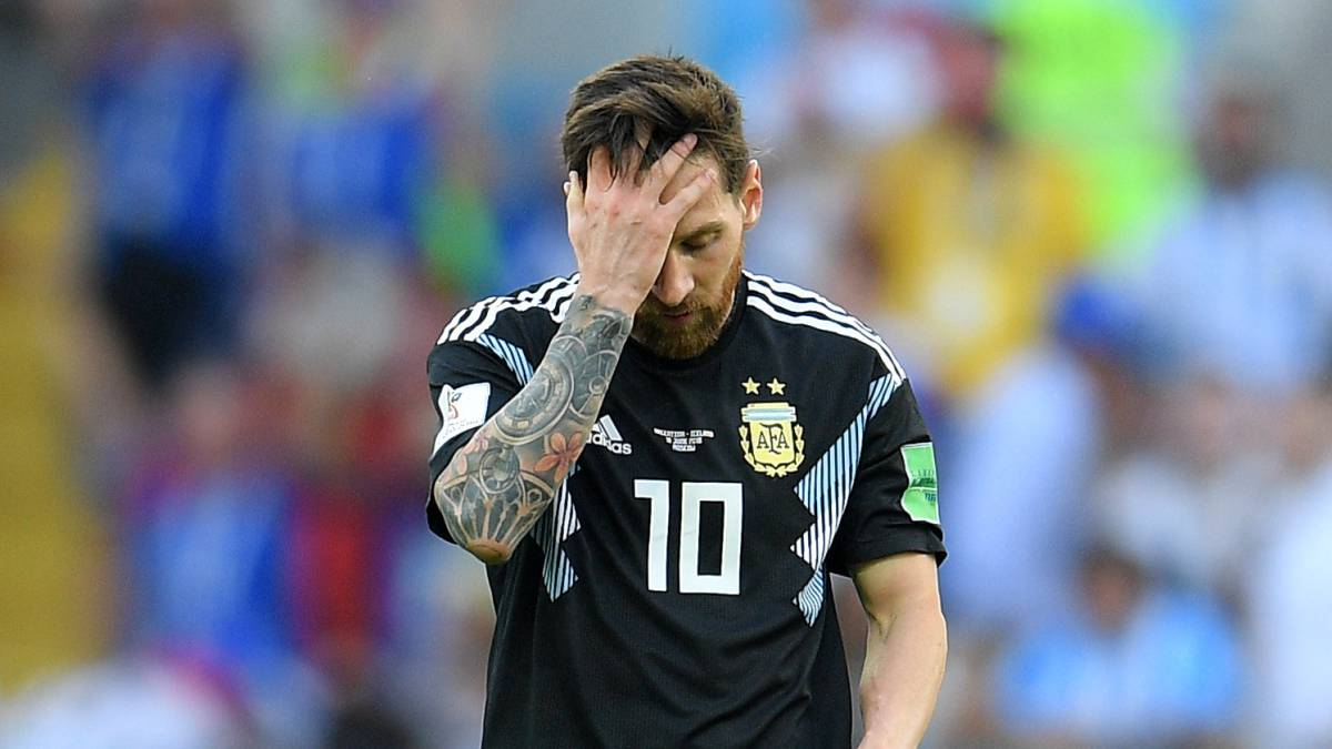 Messi misses penalty as Argentina draw 1-1 with Iceland: World Cup 2018 Group D