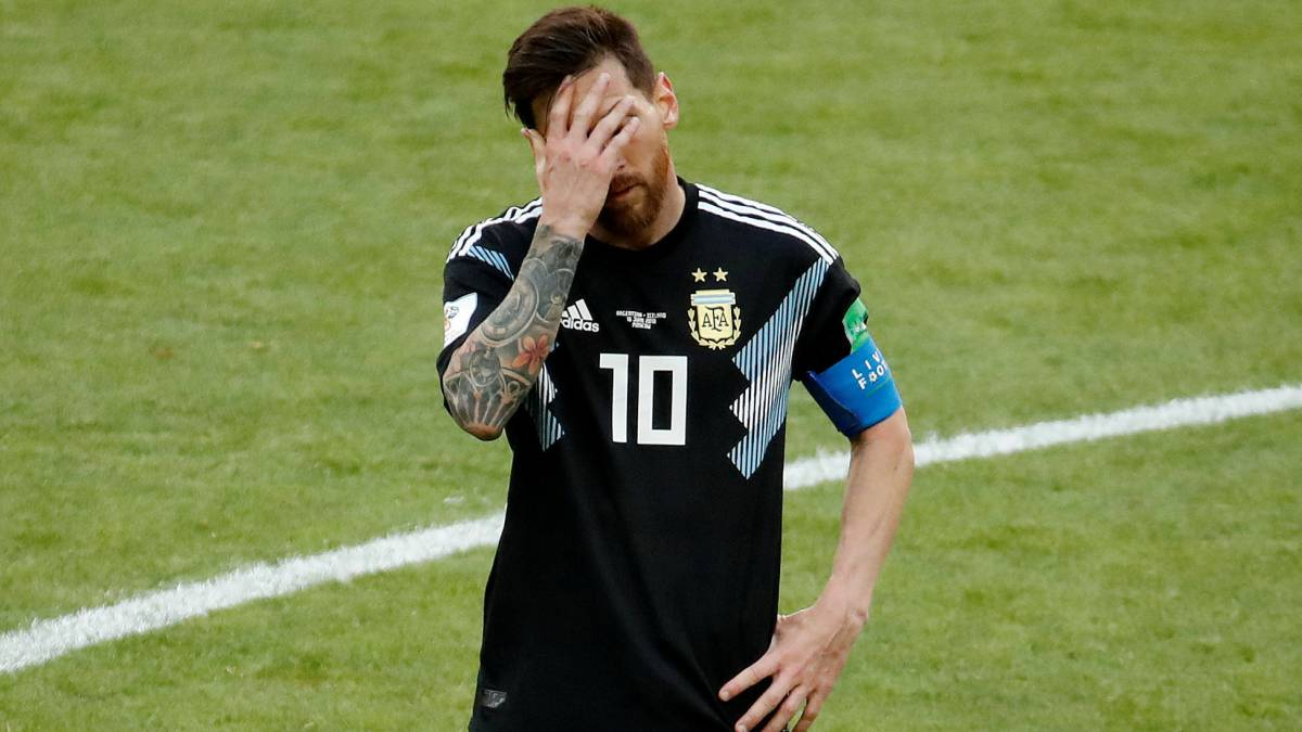 Messi the first to miss a penalty at 2018 World Cup Russia
