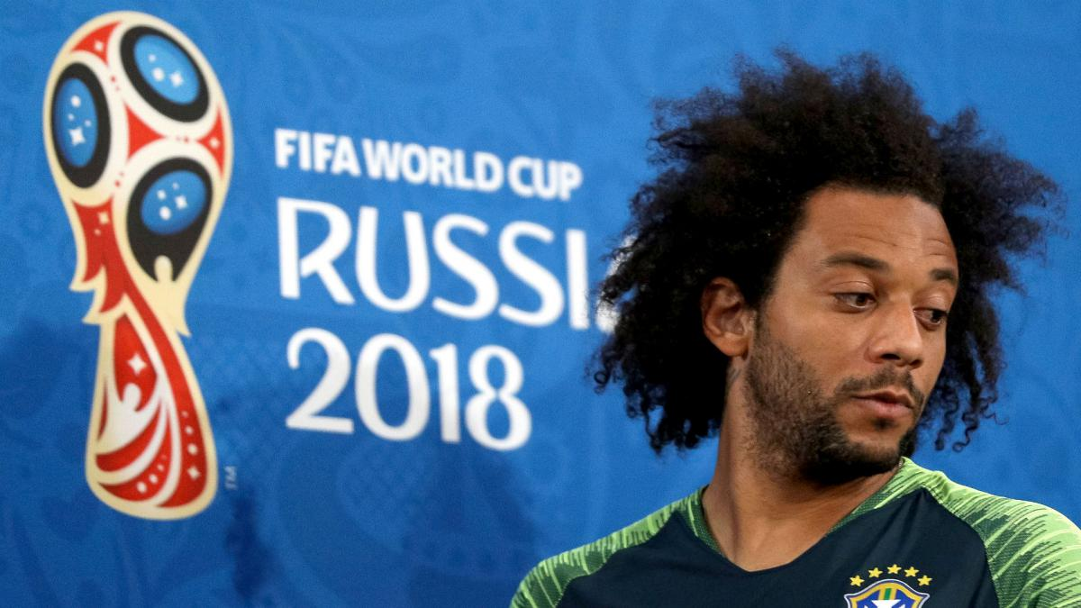 From beach football to Brazil captain, Marcelo living World Cup dream