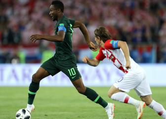 Nigeria must return to drawing board after Croatia loss - Mikel