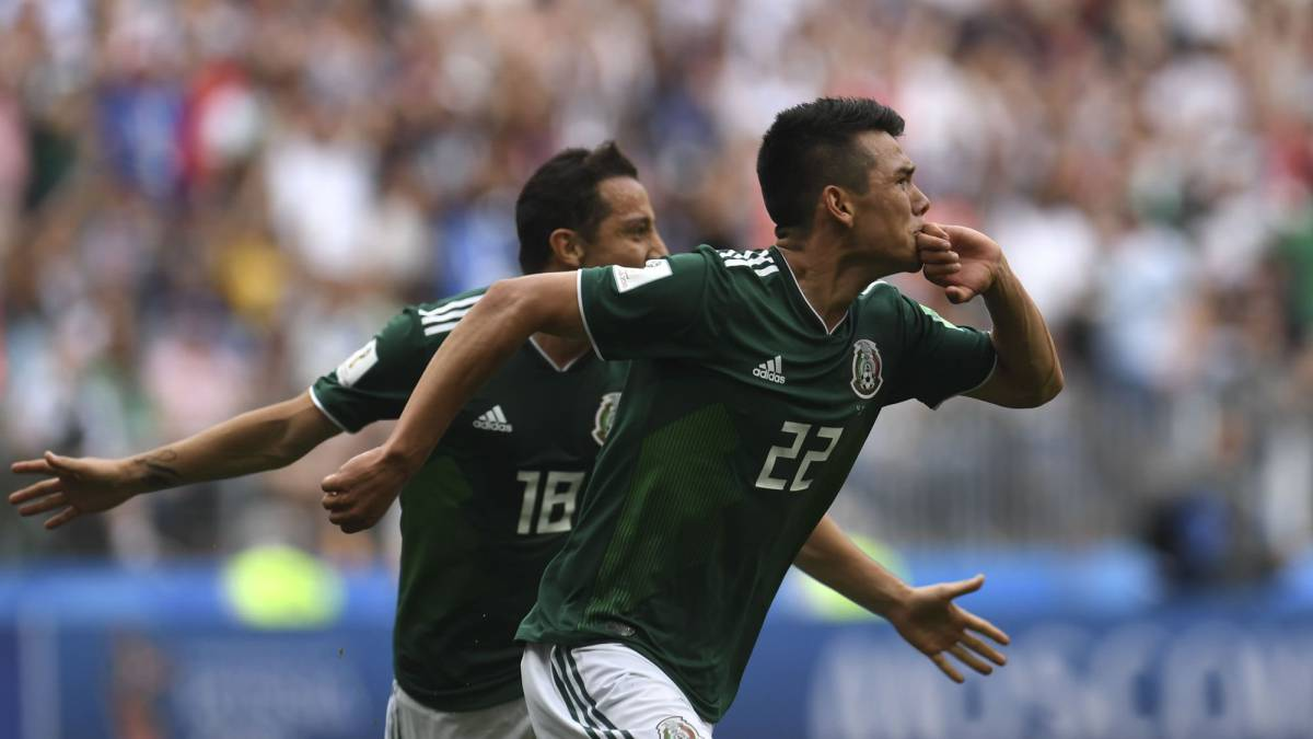 Germany 0-1 Mexico, Group F World Cup 2018
