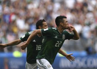 Mexico record famous win over reigning champions Germany