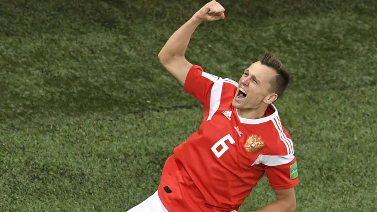 Russia 3-1 Egypt: Group A World Cup Russia 2018 goals, report