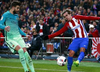 Barcelona angered by Pique's involvement in Griezmann saga