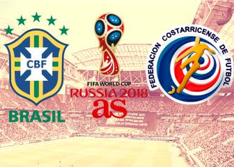Brazil - Costa Rica: how and where to watch