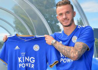 Leicester City complete signing of James Maddison from Norwich City