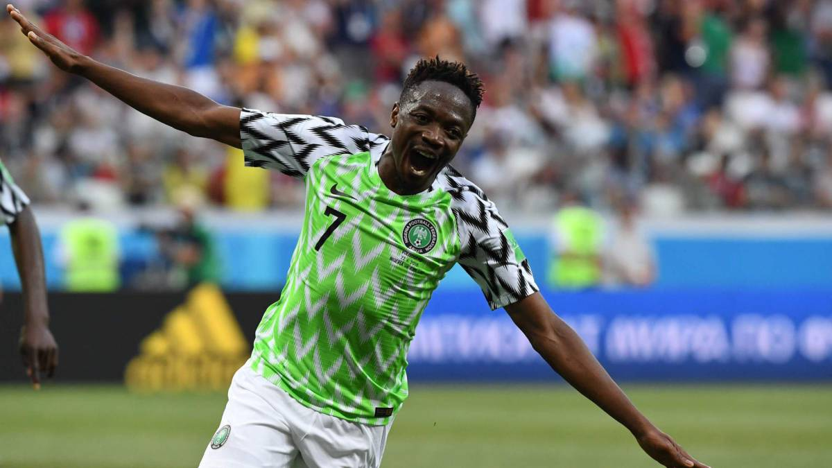 83393d98e1b Nigeria 2-0 Iceland World Cup 2018  match report - AS.com