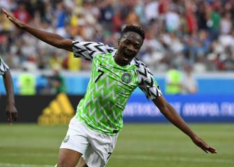 Nigeria's Super Eagles soar in second half to see off Iceland