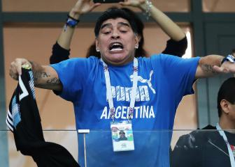 Maradona angry at Argentina World Cup performances