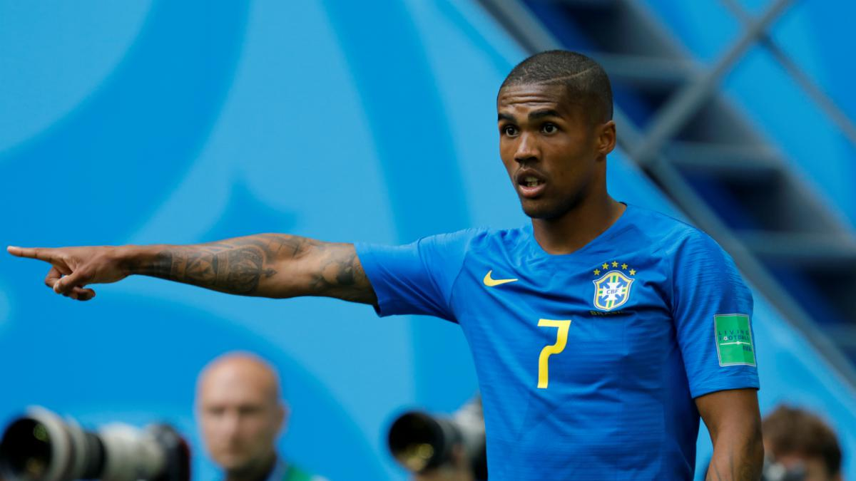 Douglas Costa, Danilo out of Brazil's Serbia clash