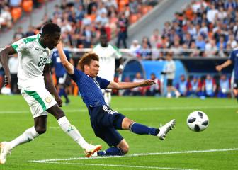 Senegal's Wagué makes African history in World Cup