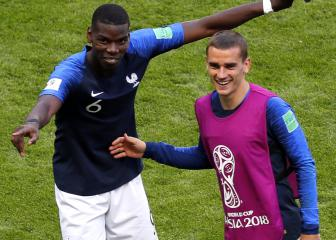 Don't touch my Grizou – Pogba defends France team-mate