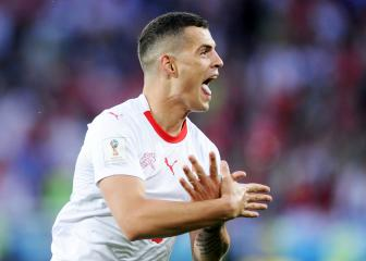 Shaqiri, Xhaka fined but not banned over Switzerland goal celebrations