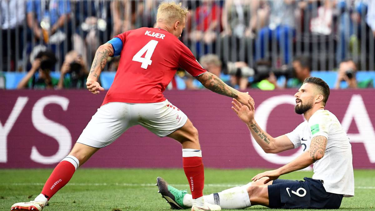 Denmark 0-0 France live: World Cup Russia 2018, Group C