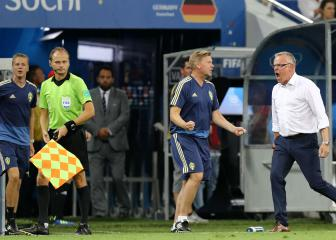 Sweden coach Andersson slams Germany for 'unsportsmanlike behaviour'