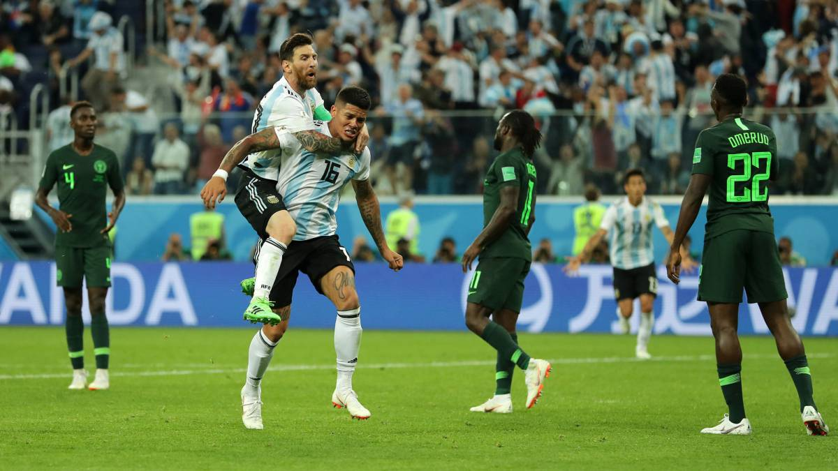 Nigeria 1-2 Argentina: Group D, World Cup 2018: match report