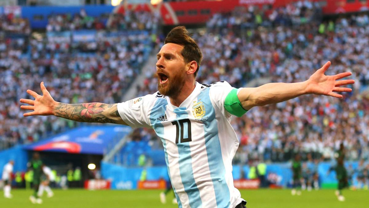 Messi gives Argentina hope, Moses takes it away, Rojo does it