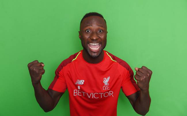 innovative design dad9c 1d767 Naby Keita ready to follow in Gerrard's footsteps at ...