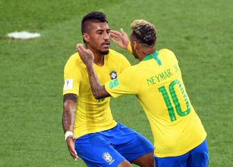 Brazil sail into last 16 with victory over Serbia